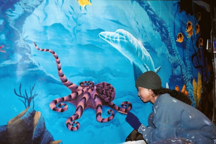 22 best murals images on pinterest mural ideas murals for Underwater mural ideas