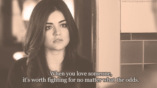 Favorite Pretty Little Liars quote ever!