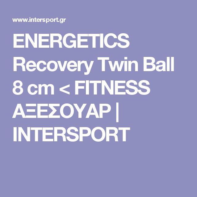 ENERGETICS Recovery Twin Ball 8 cm < FITNESS ΑΞΕΣΟΥΑΡ | INTERSPORT