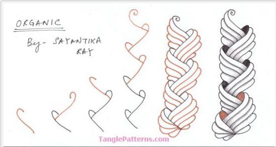 How to draw ORGANIC « TanglePatterns.com