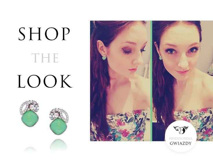 Piękna Maia Lasota w naszych kolczykach <3 #bydziubeka #jewellery #jewelry #fashion #style #look #ootd #celebrity #stars