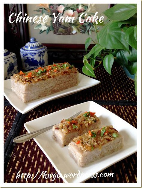 Chinese Steamed Yam And Pumpkin Cake (芋头金瓜糕) | GUAI SHU SHU #guaishushu #kenneth_goh #yam_cake #芋头糕