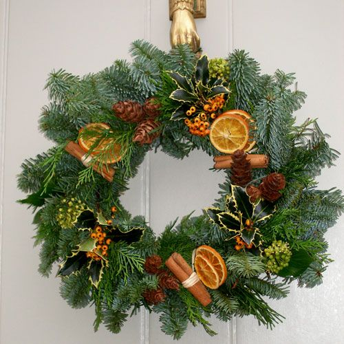 holiday wreath supplies - Google Search