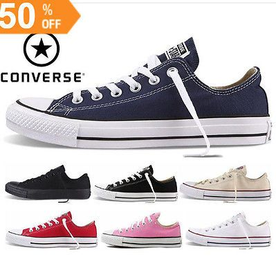 Original Converse Chuck Tay Lor All Star Shoes Sneakers Casual Low Top  Classic