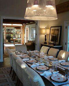The Nest   Home Decorating Ideas, Recipes. Neutral Dining RoomsFormal ...