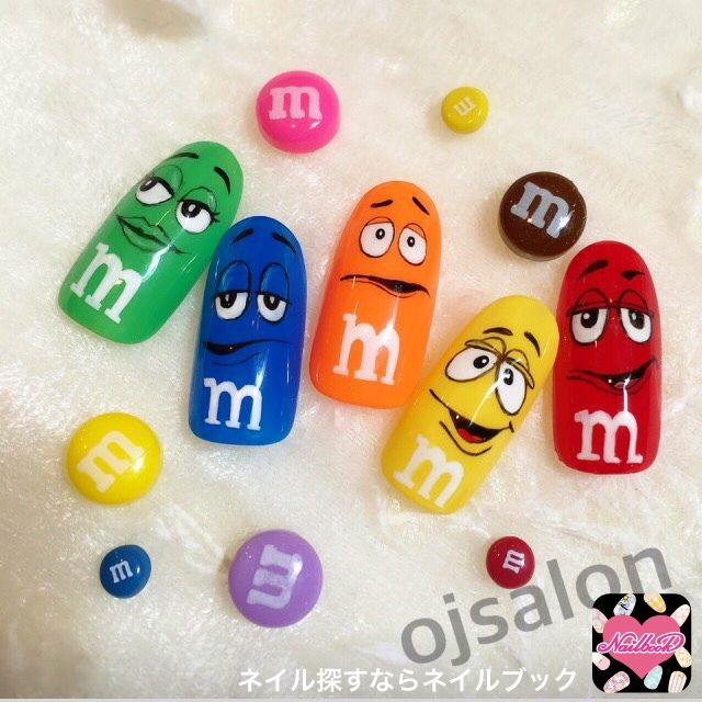かわいいネイルを見つけたよ♪ #nailbook #nails #naildesign #celebrity #tokyo #art #mms #ojsalon #広尾 #恵比寿