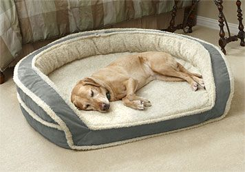 Memory Foam Dog Beds For Large And Small Dogs - http://www.snugglezzz.com/fleece_memory_foam_dog_bed_p/fmfb.htm