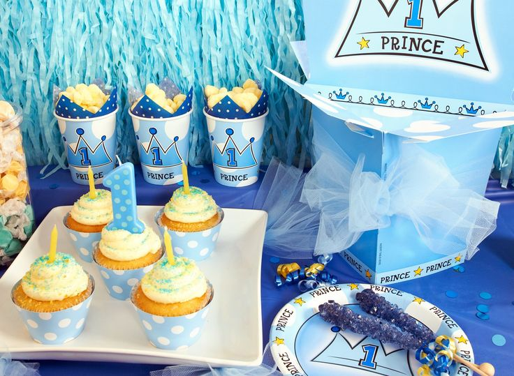 Little Prince 1st Birthday Party Supplies