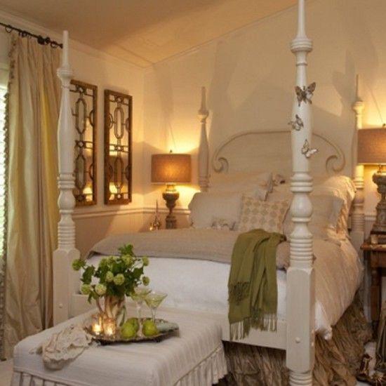 Romantic Eclectic Bedroom Designed By Stacey Costello Design.   Photo  Courtesy Of Stacey Costello Design.