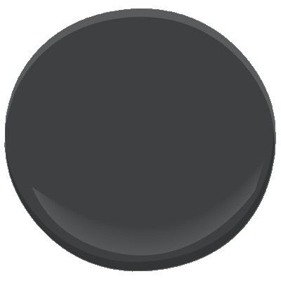 Benjamin Moore Black Panther - a deep charcoal #GrayPaint if you're looking for a dark color. We are a #Bellingham WA painting contractor, and we can help you choose the best gray paint for your home. http://www.northpinepainting.com