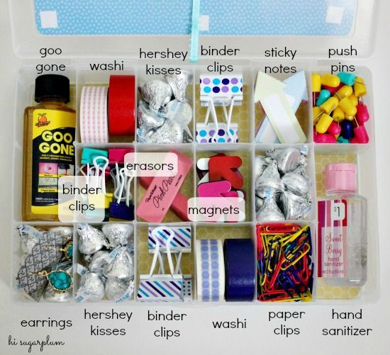 Easy Teacher Gift: Essentials Kit
