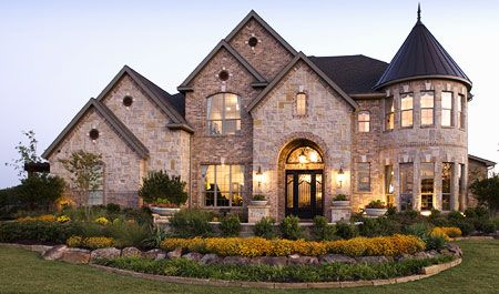 Beautiful home...I love turrets :,)