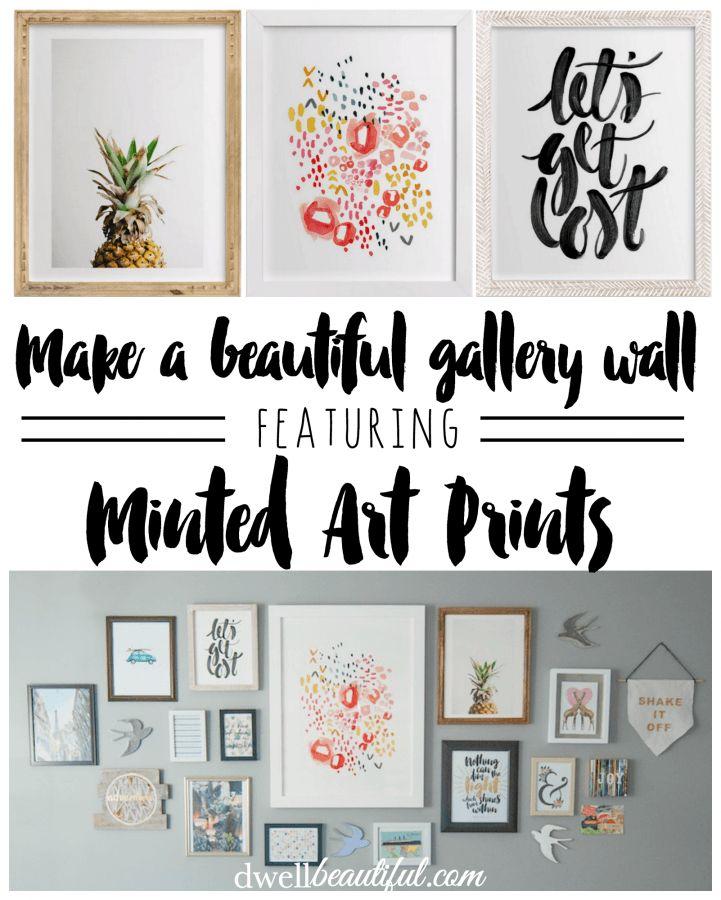 Minted Art Gallery Wall - Dwell Beautiful