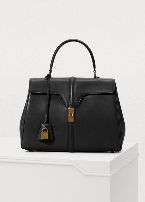 816f64b6d870 16 medium satiny calfskin leather bag in 2019