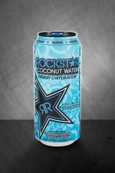 delicious coconut water! my new fav rockstar energy drink!