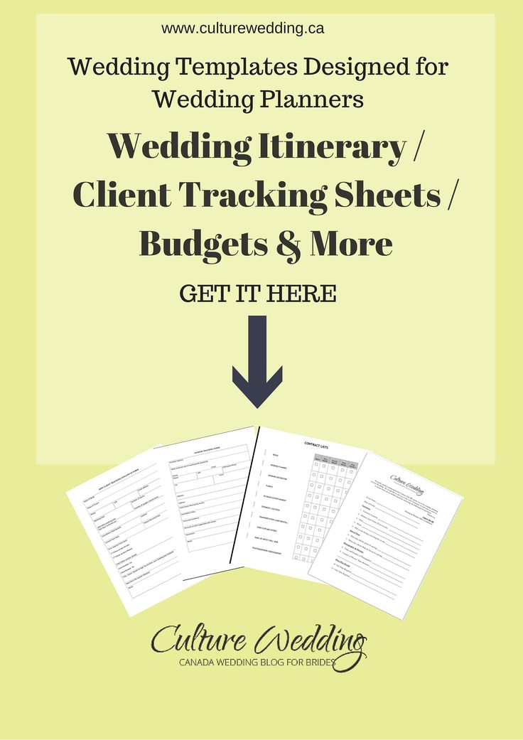The 25+ best Wedding templates ideas on Pinterest Diy wedding - wedding agenda sample