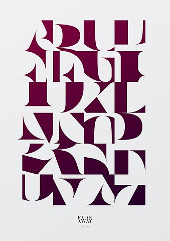 : Graphic Design, Poster Design, Jancso, Art, Typographic Posters, Jancsó Price, Alphabet, Type, Typography