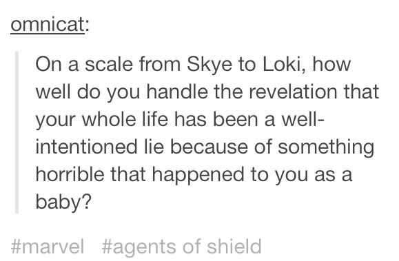(Agents of SHIELD spoiler)