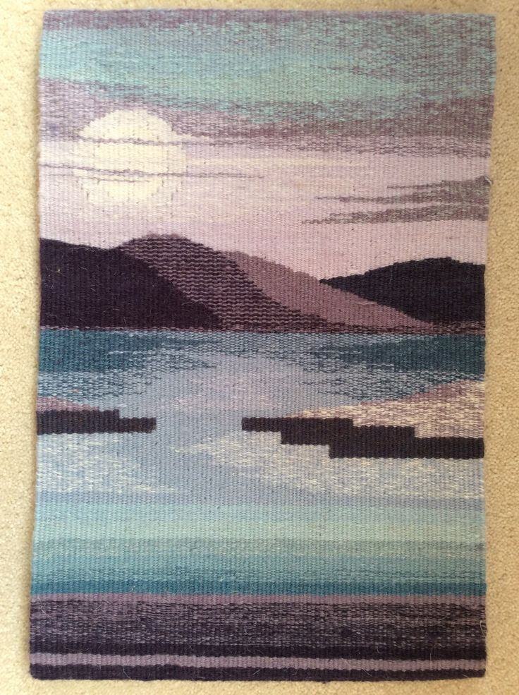 Rosemary Bullock, Warp and Weft online tapestry class with Rebecca Mezoff