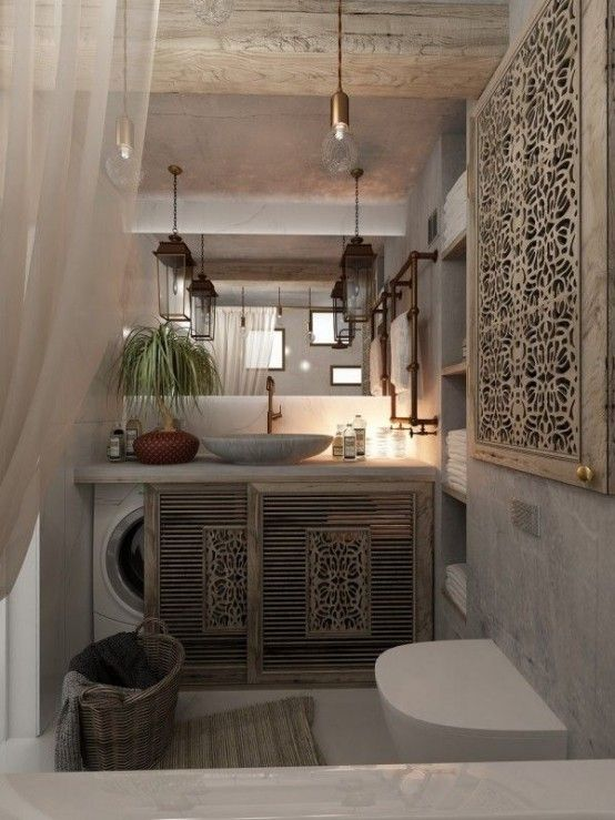 A laundry room is often a luxury today, so if you …