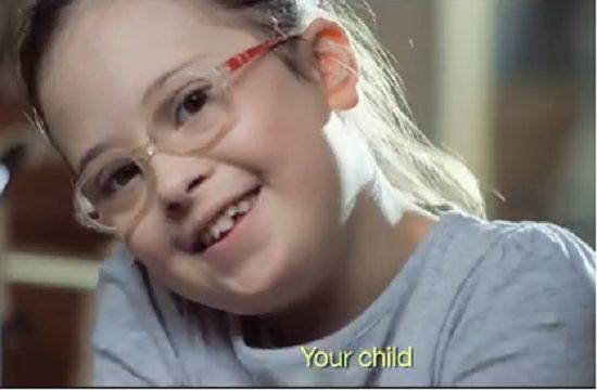 Children With Down Syndrome Tell Pregnant Mom Her Son With Down Syndrome Will be Happy http://www.lifenews.com/2014/03/17/children-with-down-syndrome-tell-pregnant-mom-her-son-with-down-syndrome-will-be-happy/