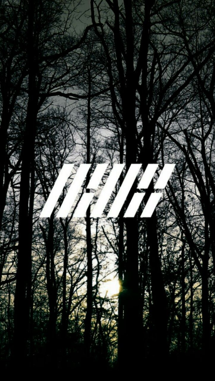 iKON LOGO Wallpaper Cr : alwayseokjin