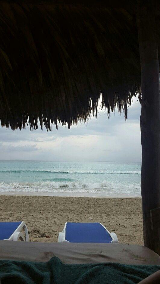Bad weather. Cuba, Varadero