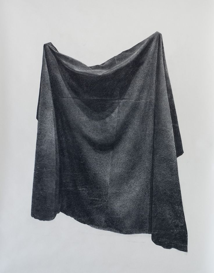 Veil by Eli Horn  Charcoal on paper