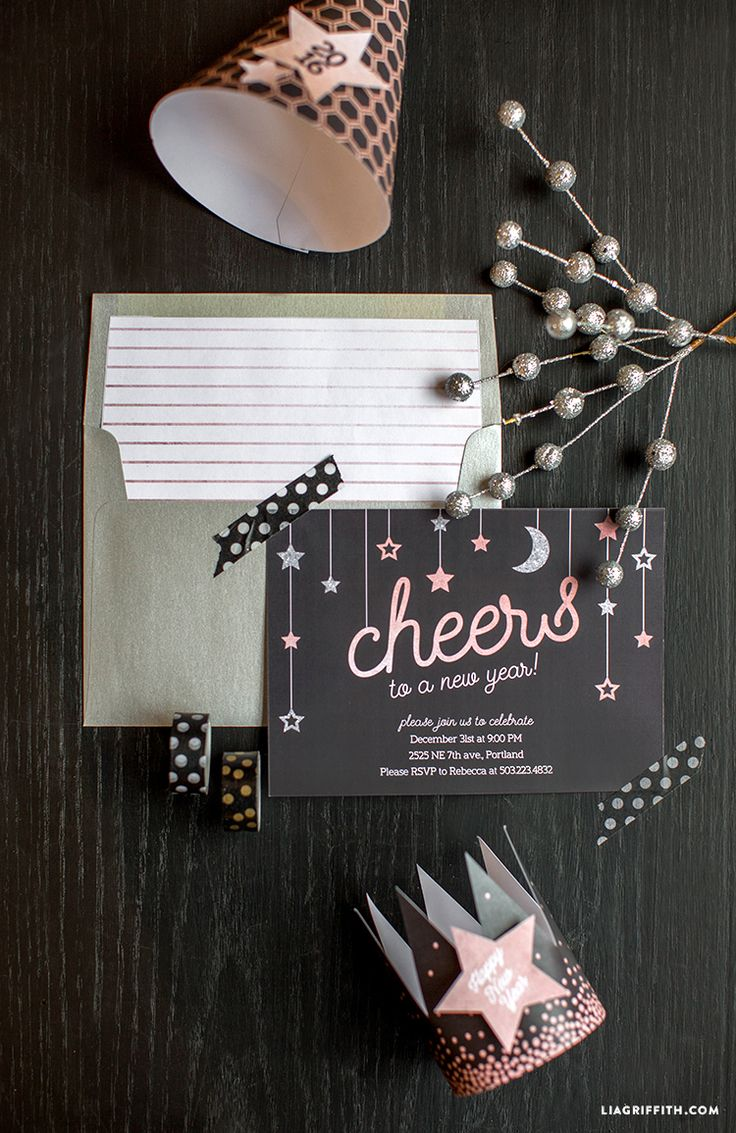 Best 25+ New years eve invitations ideas on Pinterest | New year ...