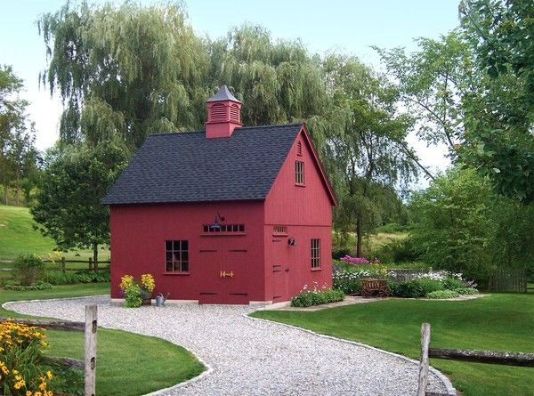 No country-side is complete without the sight of a classic red barn. Country Carpenters delivers pre-engineered, pre-cut, color-coded post and beam building kits to most U.S. States.