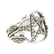 Pamela Love Champagne Diamond Pentagram Ring