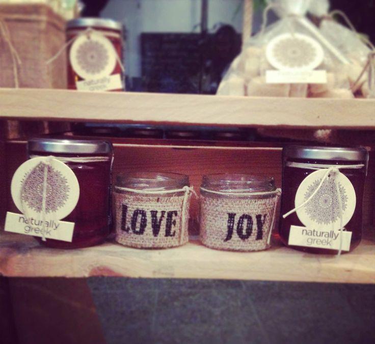 Joy & love candle giveaways