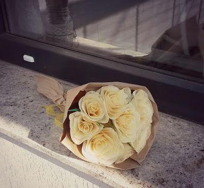 Catelier - amintiri pentru 9 vieti: Ivory Crepe Roses