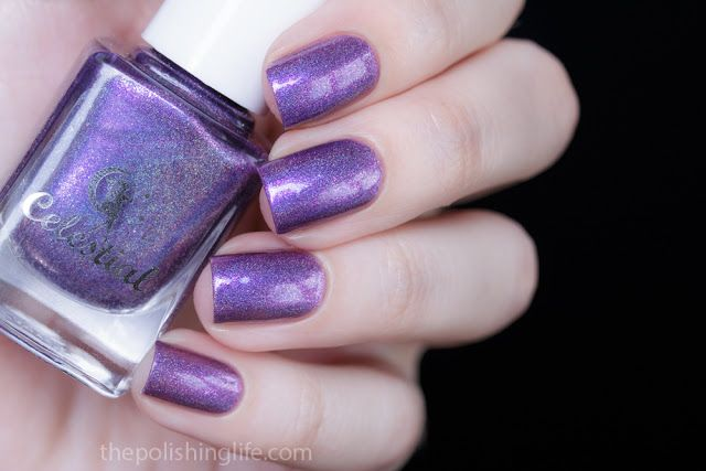The Polishing Life: Celestial Cosmetics - Celestial Dream, Hawthorn, Sweet Pea swatches and review
