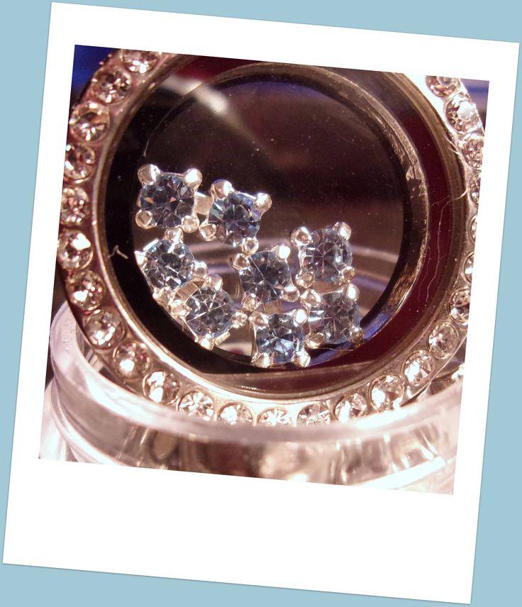 Floating Locket Charms-4pc-3mm-Swarovski Crystals-Light Blue-Vintage-Memory Charms-Memory Locket-Origami-Living Locket Charms-Glass Locket by CharmedHeartz on Etsy https://www.etsy.com/listing/545099300/floating-locket-charms-4pc-3mm-swarovski