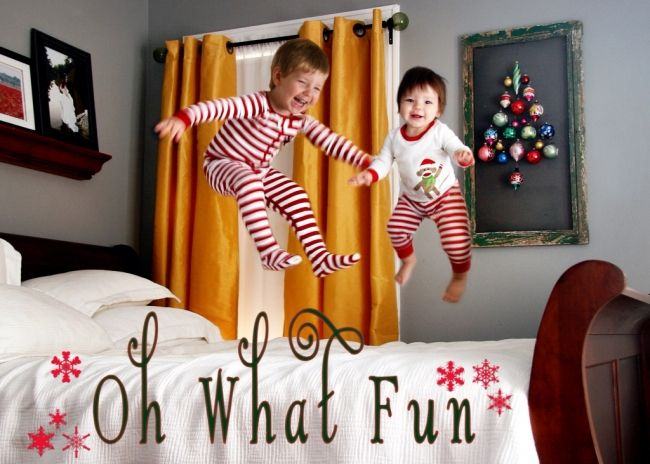 It's official: There is less than one month to go until Christmas!  With the countdown on, it'll soon be time to start thinking about setting up the tree (if you're not one of those early birds who have it up and decorated already) and pulling out the cozy Christmas jammies.
