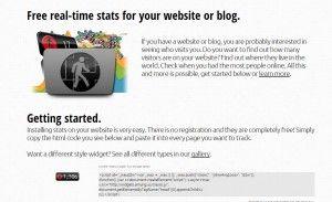 웹사이트와 블로그 실시간 접속자수 위젯(whos.amung.us Online Counter)