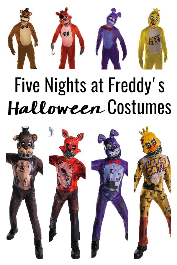 Get Your Kids Ready For Halloween With These Five Nights At Freddy S