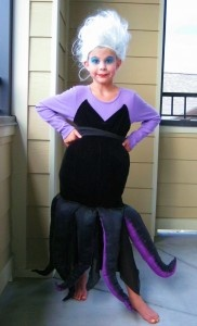 Making Halloween Costumes For Kids. Ursula Costume