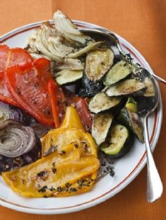 Barefoot Contessa  - Roasted Summer Vegetables - My favorite way to fix veggies!