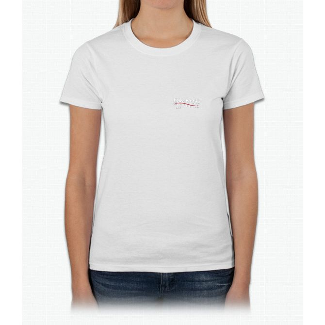 balenciaga t shirt womens white