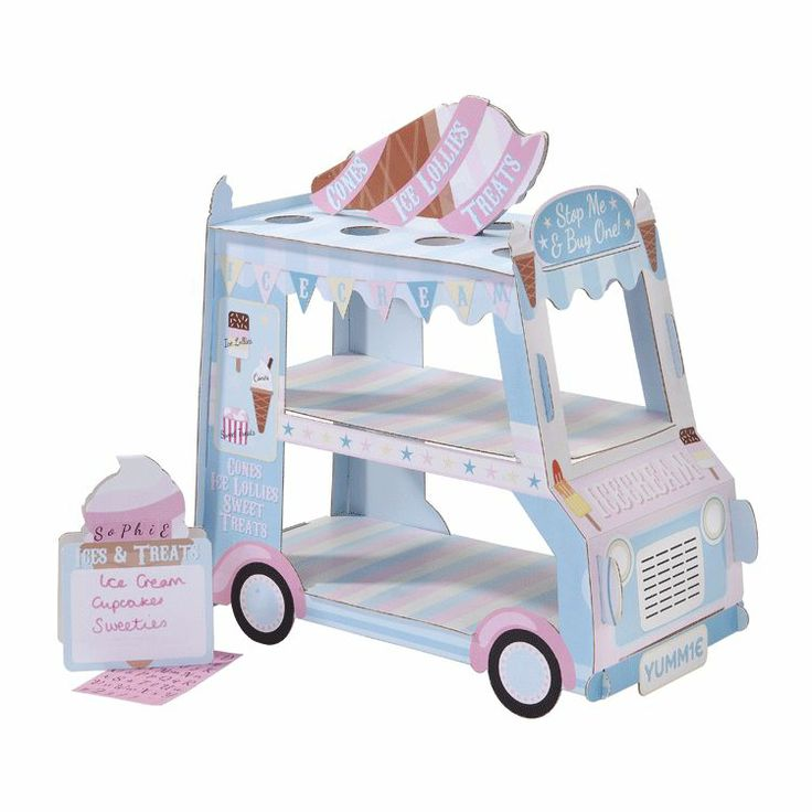 Ice Cream Van Sweet Stand Fabulous ice cream van sweet stand for your wedding, birthday party or other celebration. You can display sweets, cakes and of course ice cream on this attractive stand. The pack comprises:1 disposable card ice cre... http://www.soraiseyourglasses.com/prod/ice-cream-van-sweet-stand?utm_source=Google+Shopping&utm_medium=referral&utm_term=Ice+Cream+Van+Sweet+Stand&utm_campaign=Google+Shopping&gclid=CPujlJS0mr4CFXGWtAodrkQAzA