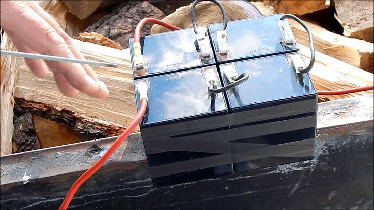 Simple DIY, Dirt Cheap Welder for Field Repairs and WTSHTF