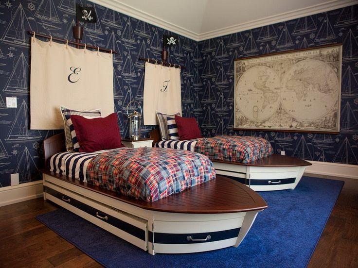 62 best Nautical Boys Bedroom images on Pinterest Boy bedrooms - nautical bedroom ideas