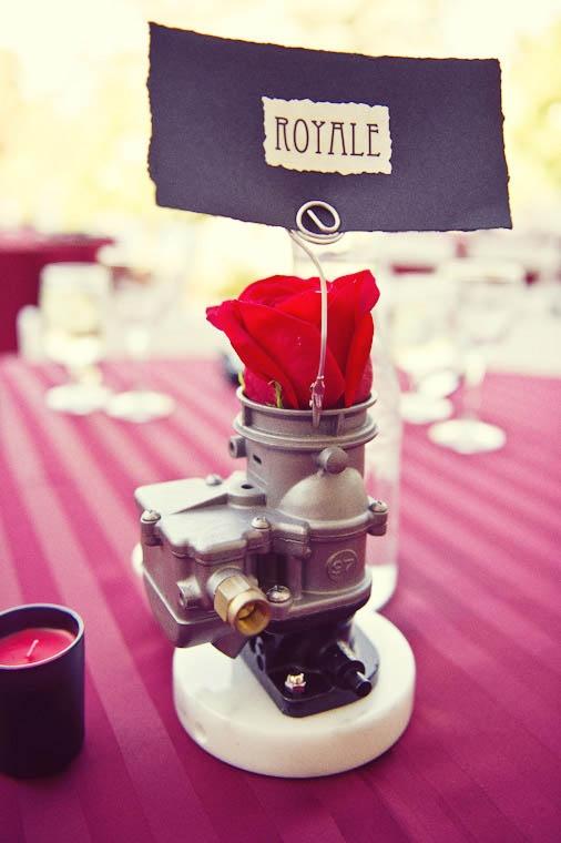 Chris & Jenn's Rockabilly Car-Inspired Wedding