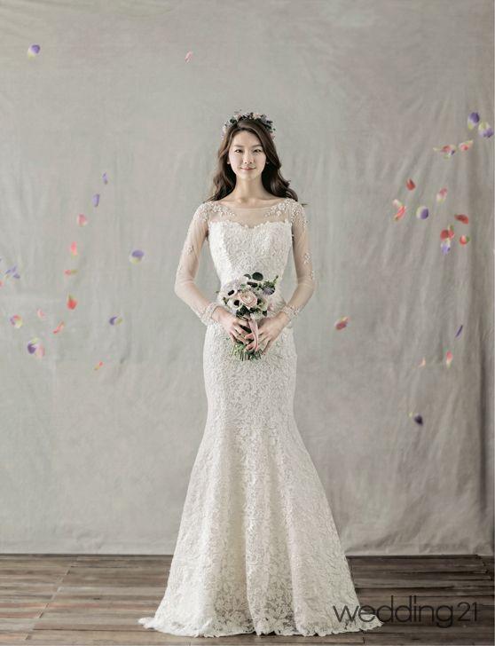 [웨딩드레스] 꽃처럼 아름다운 나의 신부, 상아꾸띄르