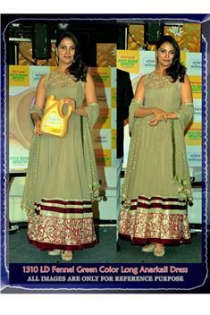 Lara Dutta Bollywood Replica Anarkali Salwar Kamee