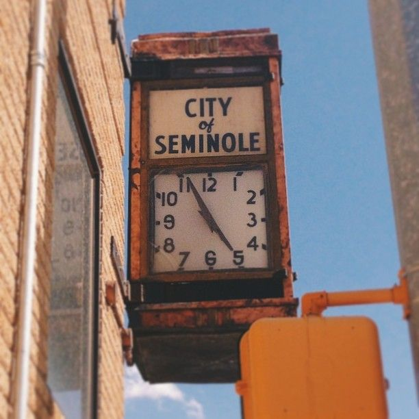 Seminole, TX in Texas
