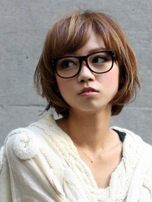 Japanese Short Hair Girl