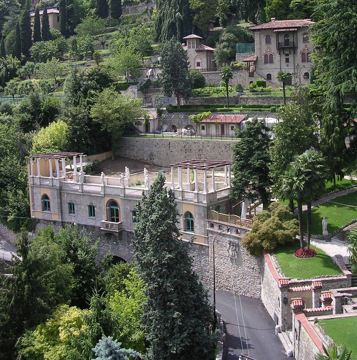 Bergamo, Italy (mountain side)